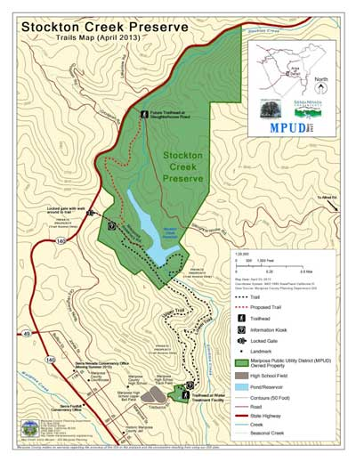 Stockton Creek Preserve Sierra Foothill Conservancy